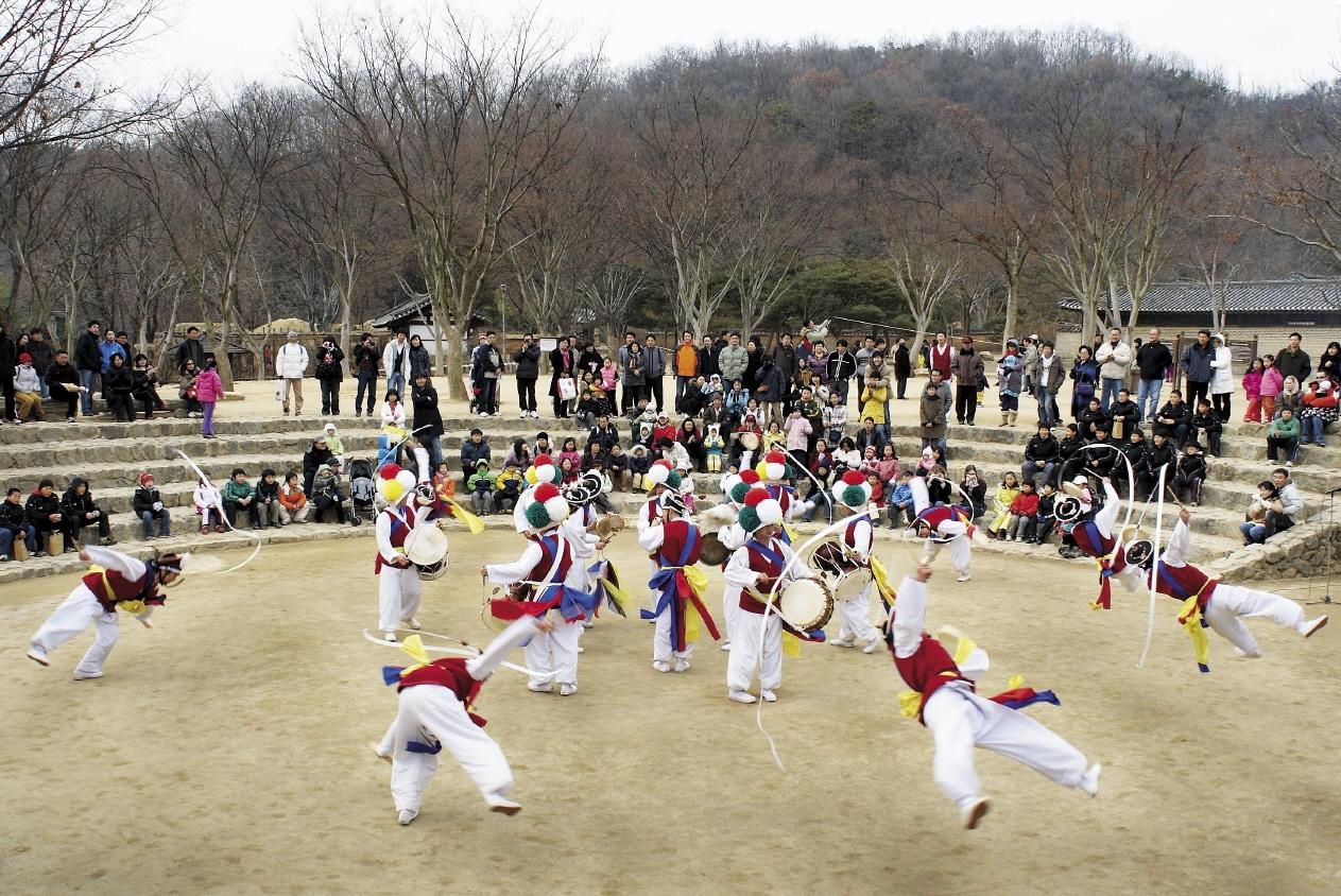 Village folklorique Coréen