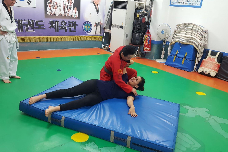 Cours de Taekwondo Séoul Corée du Sud