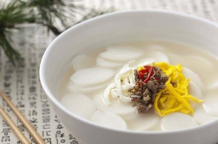 la Mandu-guk spécialité coréenne