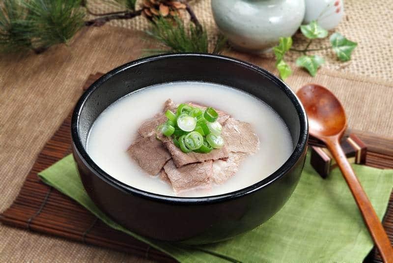 le Seollongtang spécialité coréenne