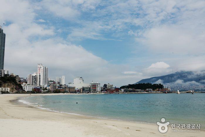 Plage de Songdo à Busan Corée du Sud
