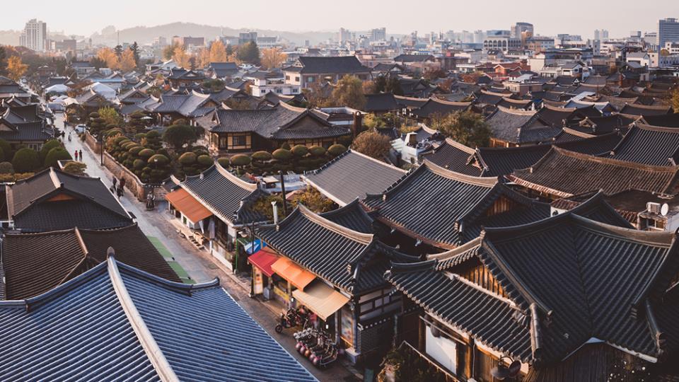 le village hanok de Jeonju Corée du Sud