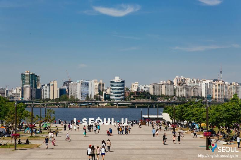 fleuve Han Séoul Corée du Sud