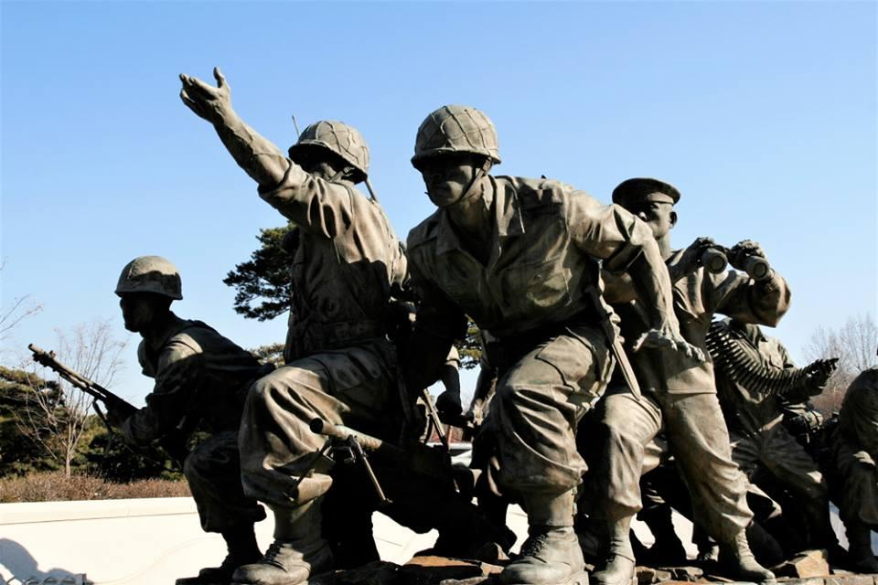 Musée de la guerre et de la paix Séoul Corée du Sud