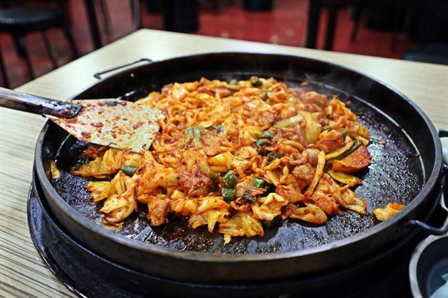 le Dakgalbi Corée du Sud