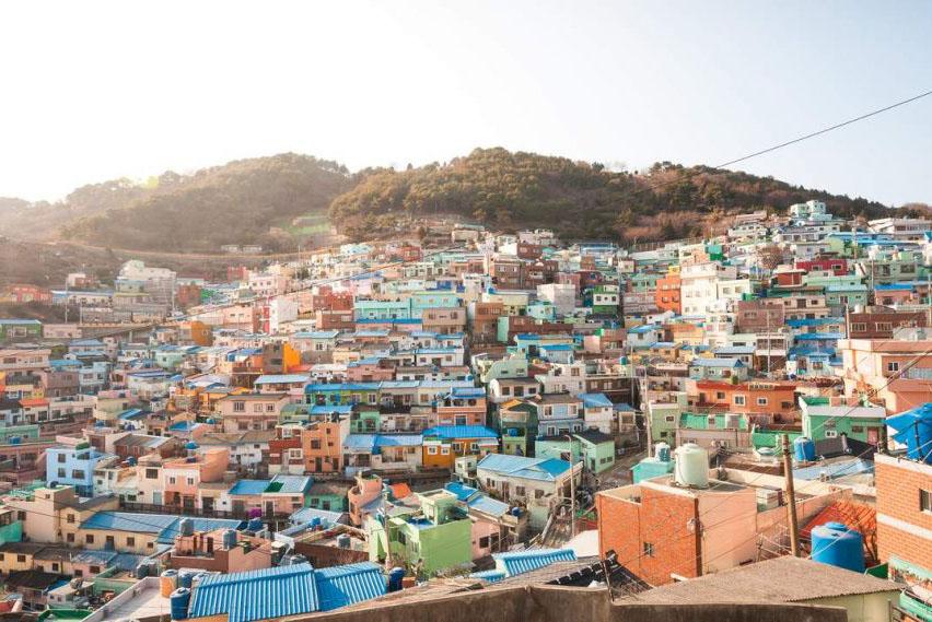 Village culturel Gamcheon de Busan Corée du Sud