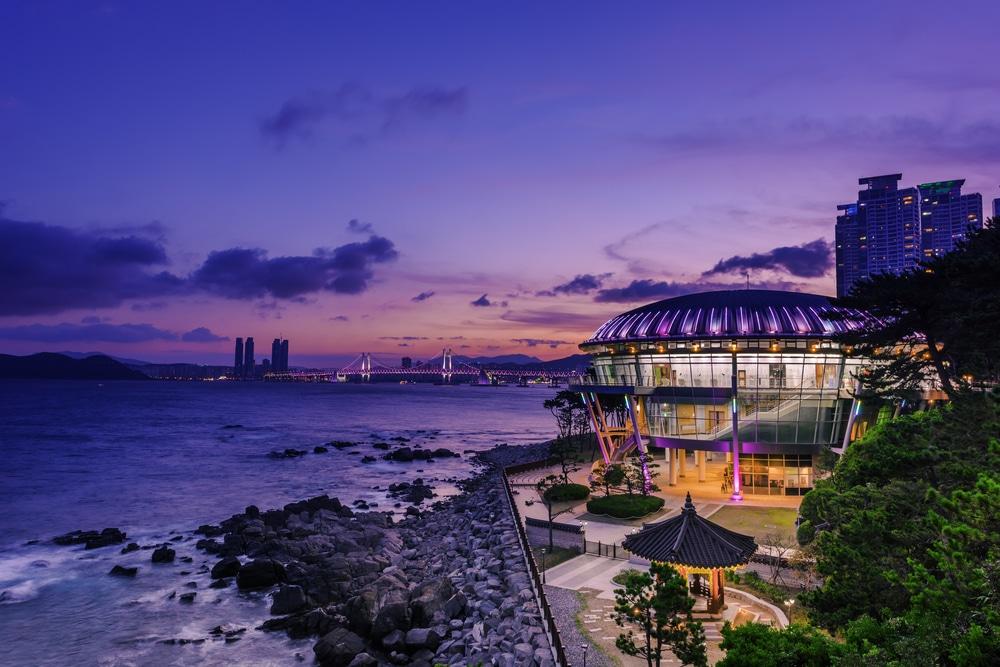 Île de Dongbaek Séoul Corée du Sud