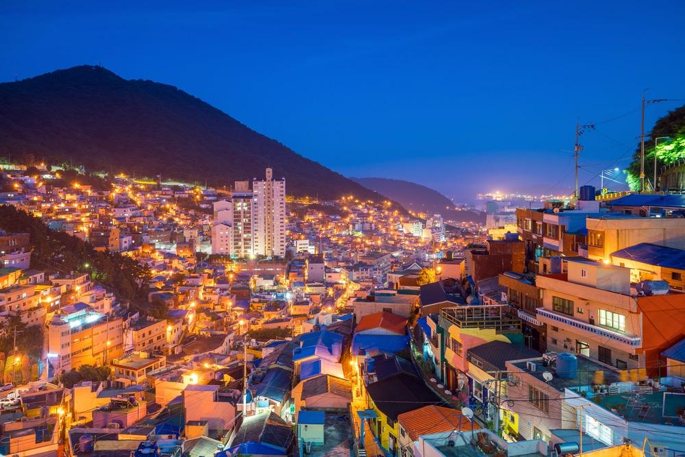 Village culturel de Gamcheon Busan Corée du Sud