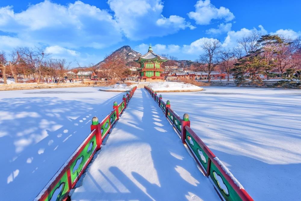 Palais Gyeongbokgung Séoul Corée du Sud
