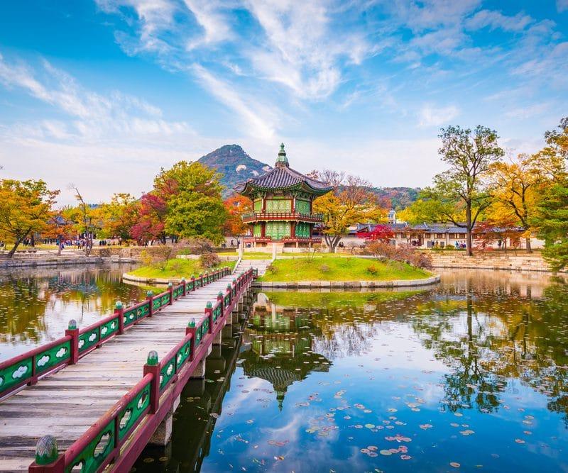Palais de Gyongbokgung Séoul Corée du Sud