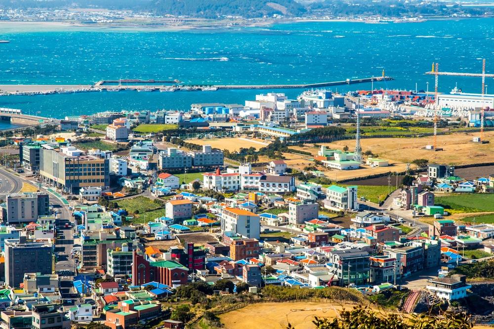 Ville de Jeju Corée du Sud