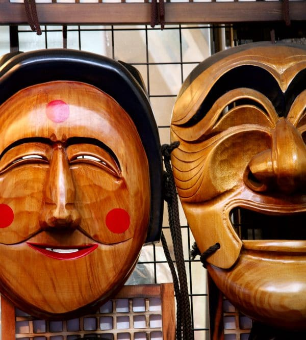 Masques traditionnels Coréens