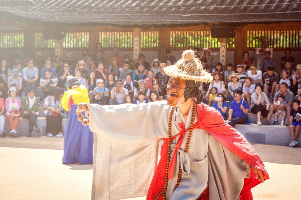 Village Hahoe Andong Corée du Sud