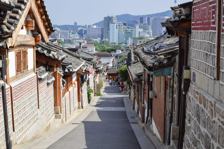 village de Bukchon à Séoul
