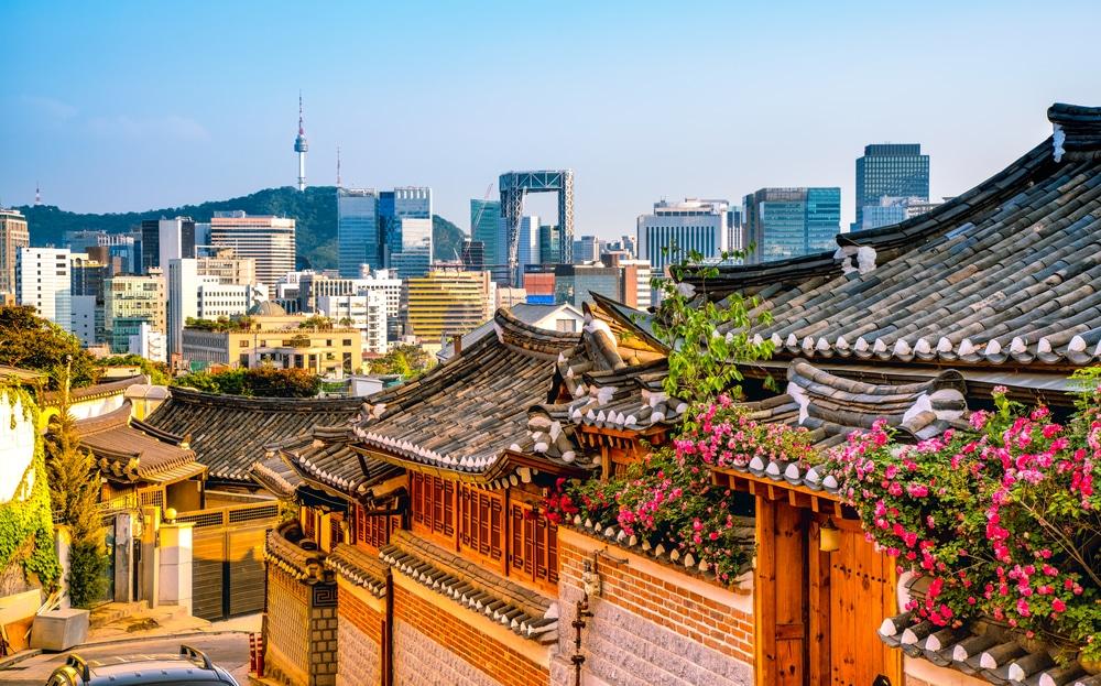 Quartier de Bukchon Séoul Corée du Sud