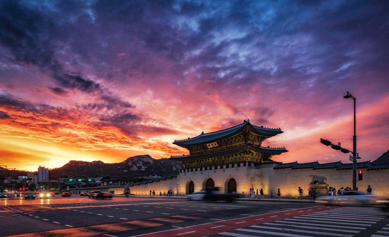 Gwanghwamum Séoul Corée du Sud