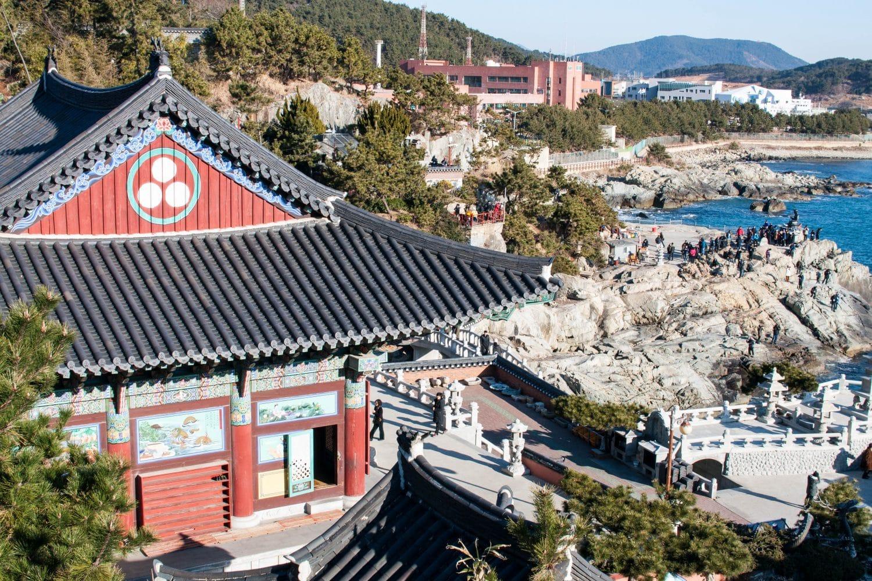Temple Haedong Yonggungsa Busan Corée du Sud