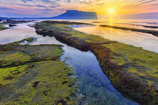 Jeju ile volcan mer