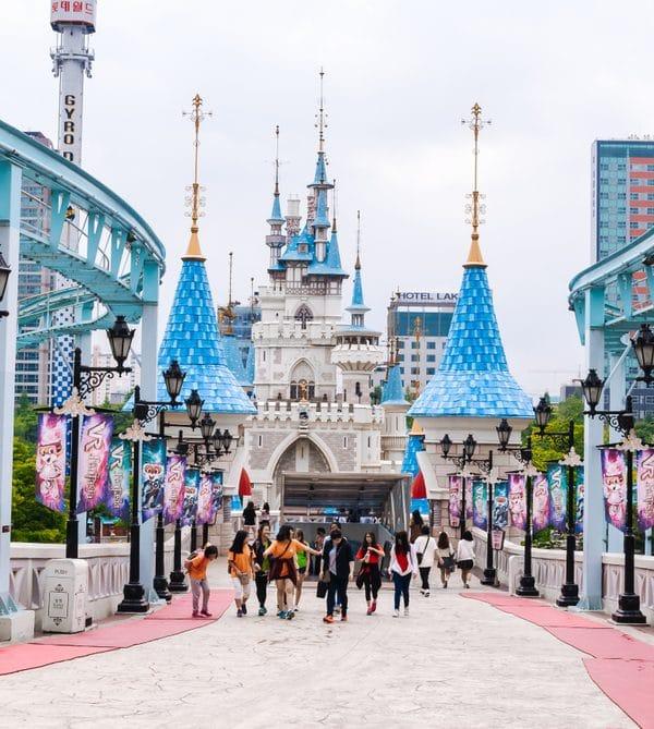 Parc d'attraction Lotte World Séoul Corée du Sud