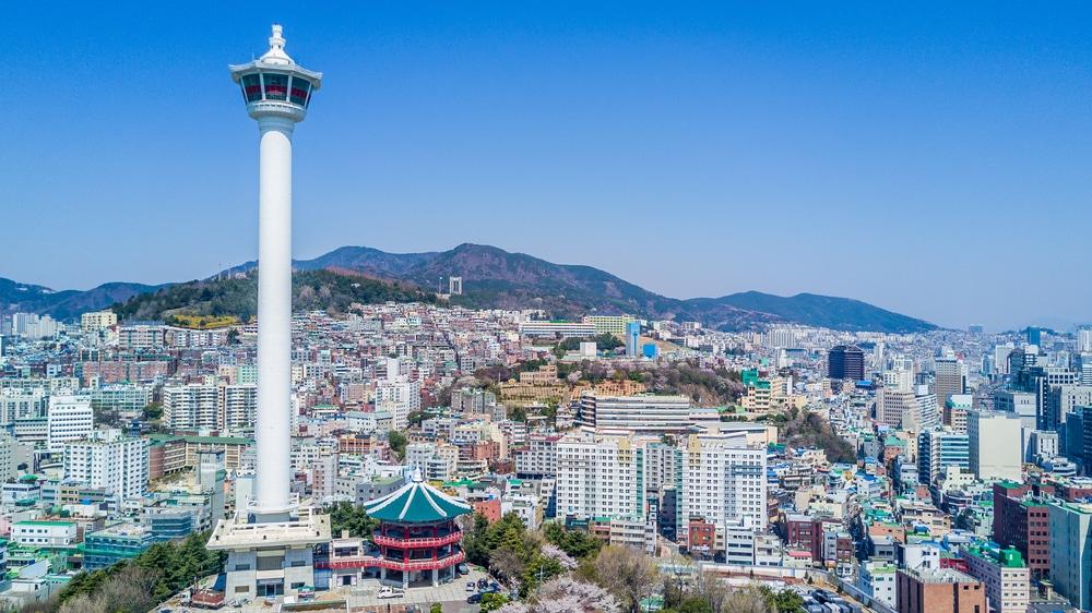 Tour de Busan Corée du Sud