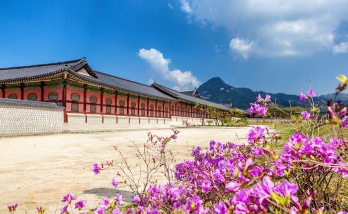 Palais de Gyeongbokgung Séoul Corée du Sud
