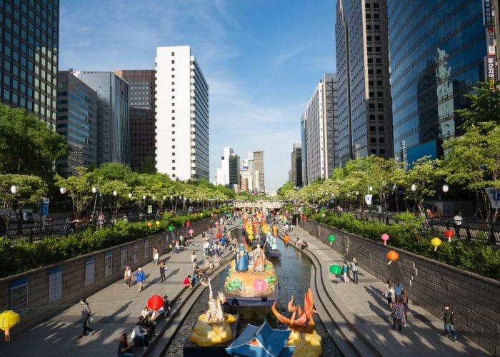 Festival des lanternes Séoul Corée du Sud