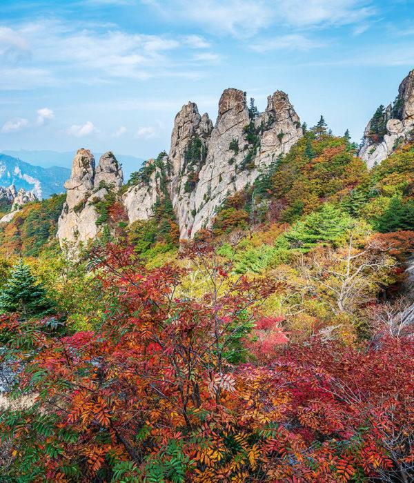 Bukhansan montagne Corée du Sud