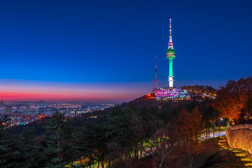 Tour de Namsan Séoul Corée du Sud