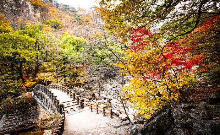 Seoraksan Corée du Sud