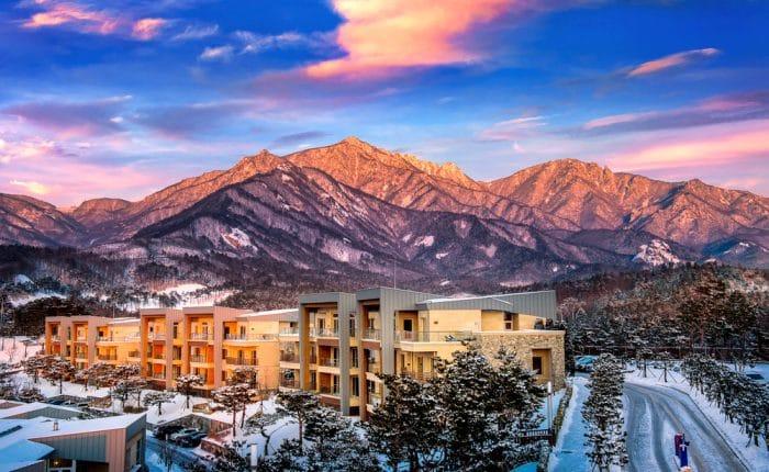 Seoraksan en Hiver Corée du Sud