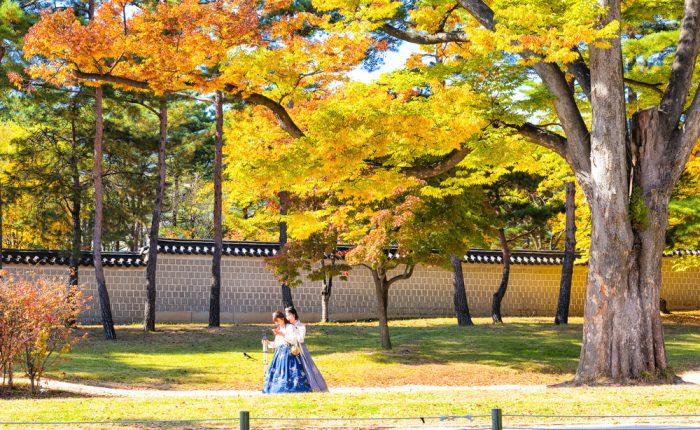 Séoul Corée du Sud en automne