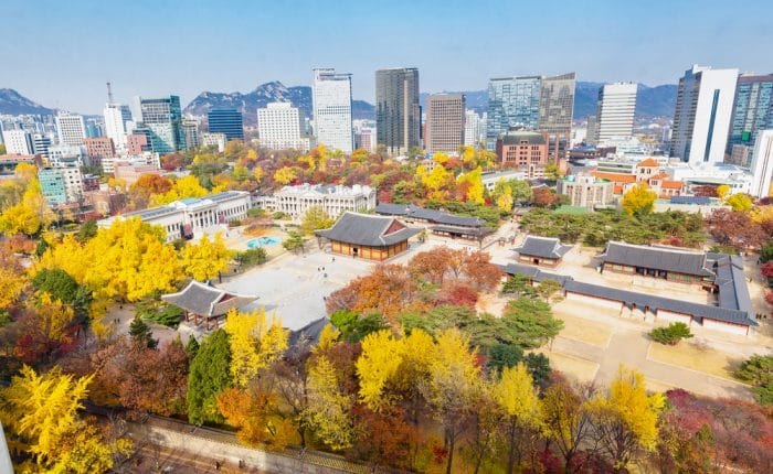 Automne à Séoul Corée du sud