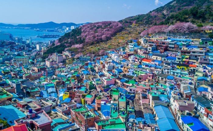 Village culturel Gamcheon Busan Corée du Sud
