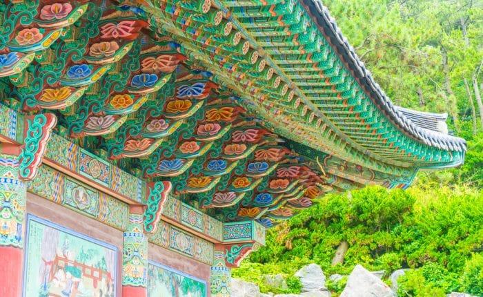 Temple de Busan Corée du Sud