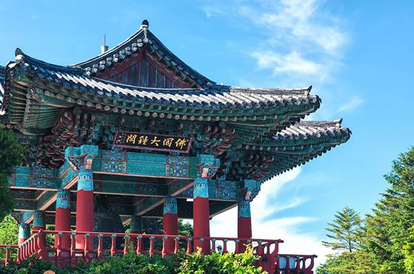 temple haeinsa corée