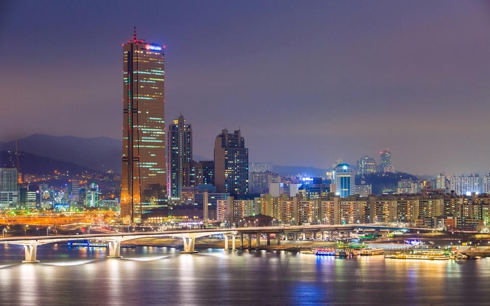 Parc Yeouido Séoul Corée du Sud