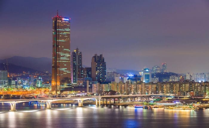 Parc de Yeouido Séoul Corée du Sud
