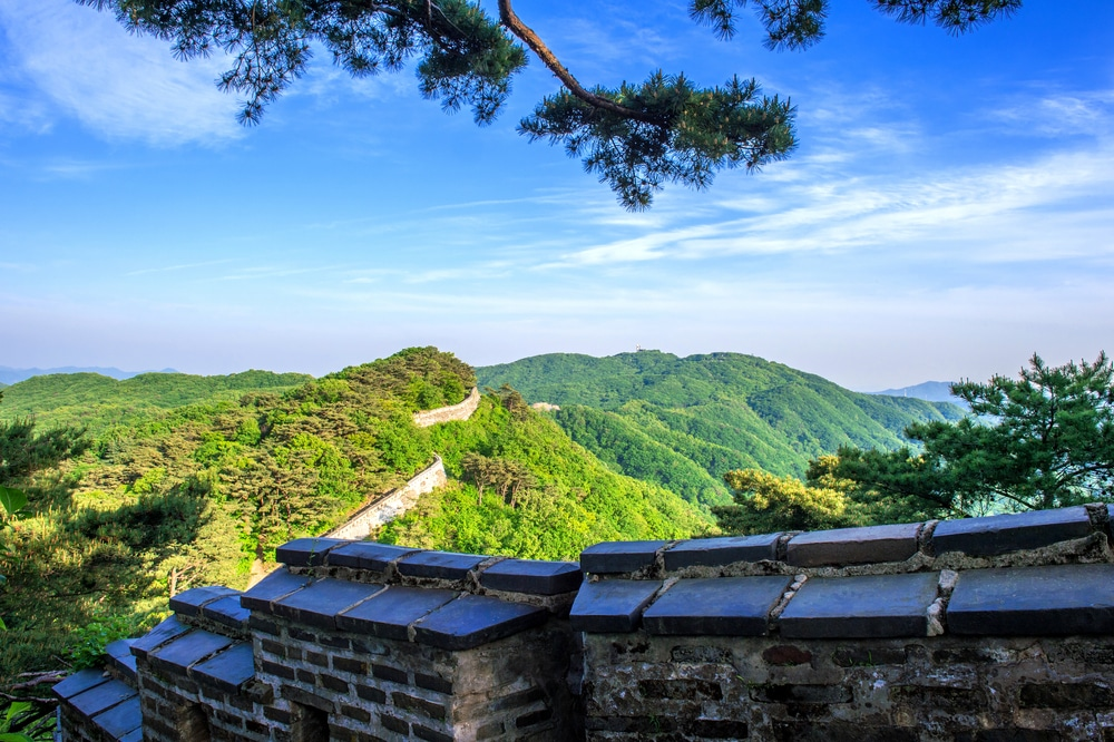 Namhansanseong forteresse Corée du Sud