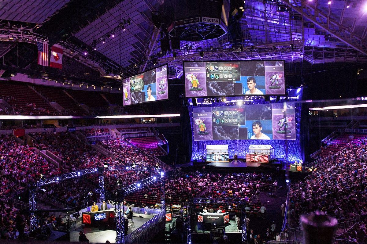 E-sport compétition de jeux vidéo Séoul Corée du Sud
