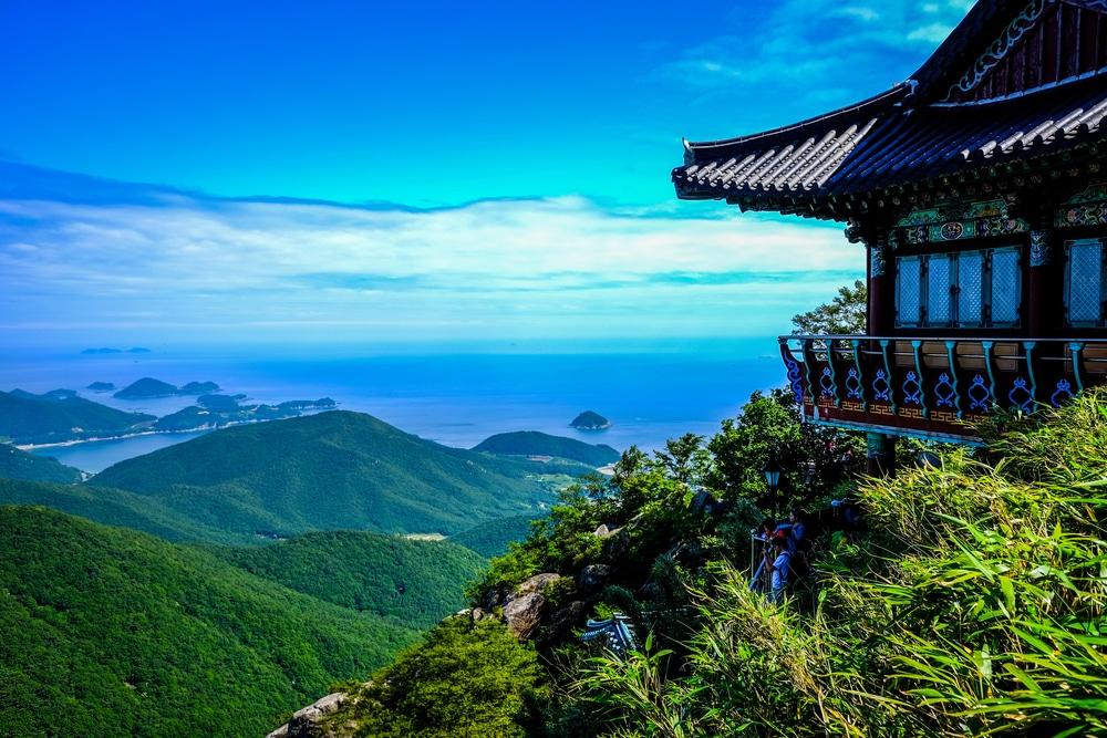 Boriam Temple Corée du Sud