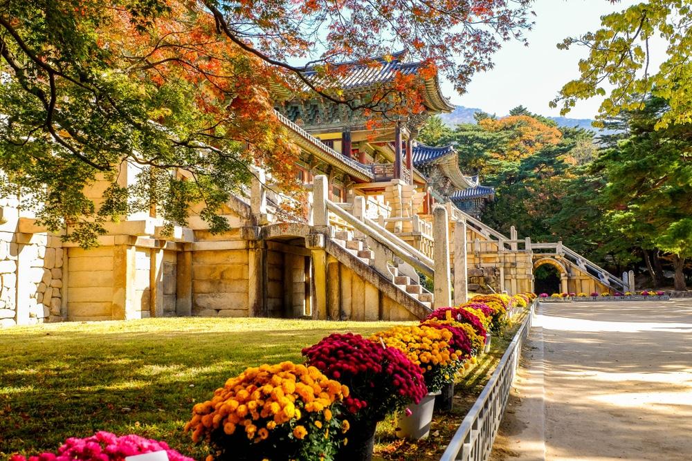 Temple de Bulguksa Gyeongju Corée du Sud