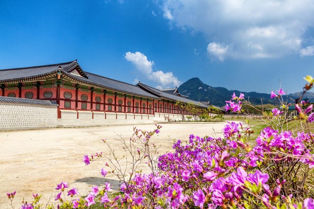 Gyeongbokgung palais Séoul Corée du Sud