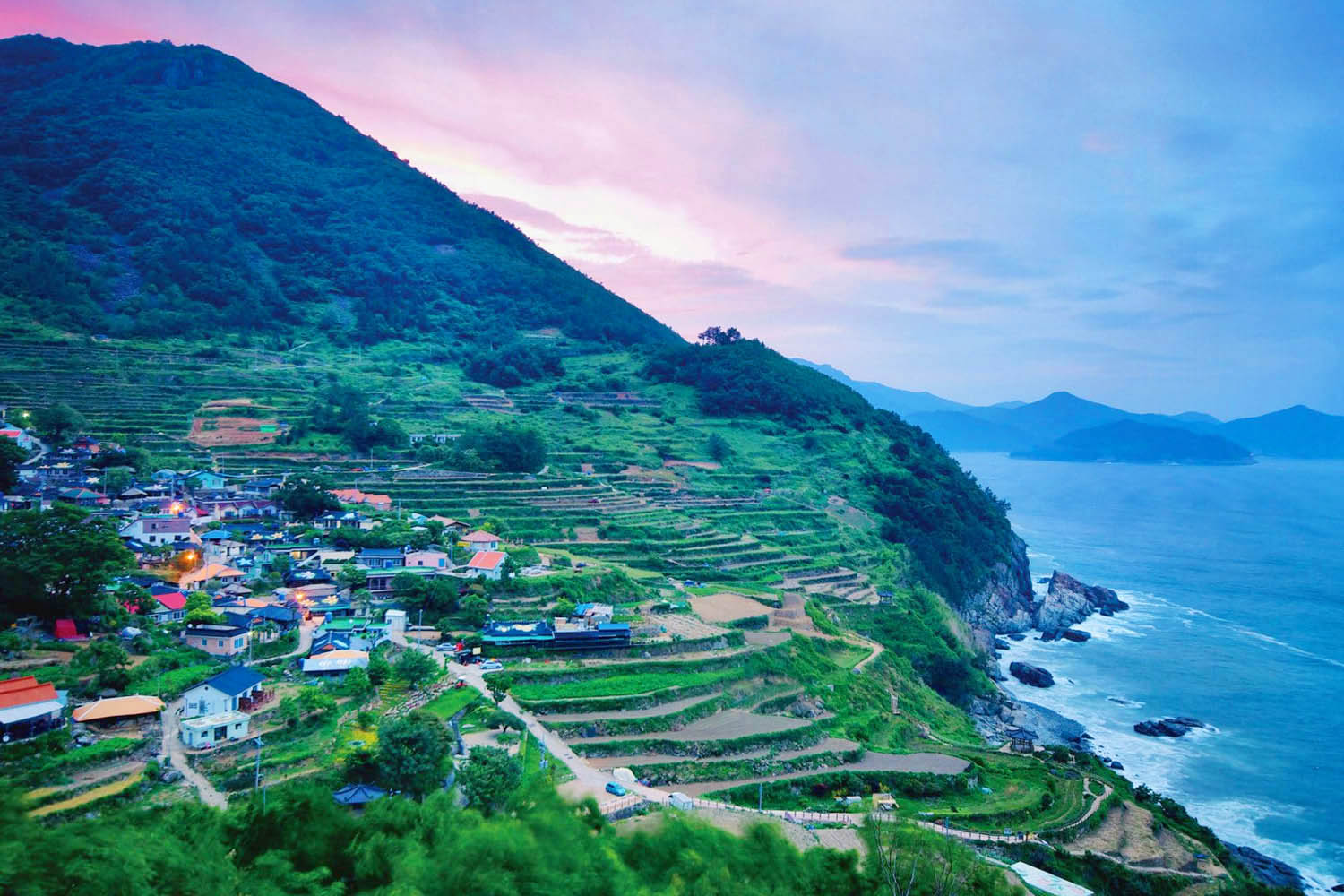 coree du sud village namhae