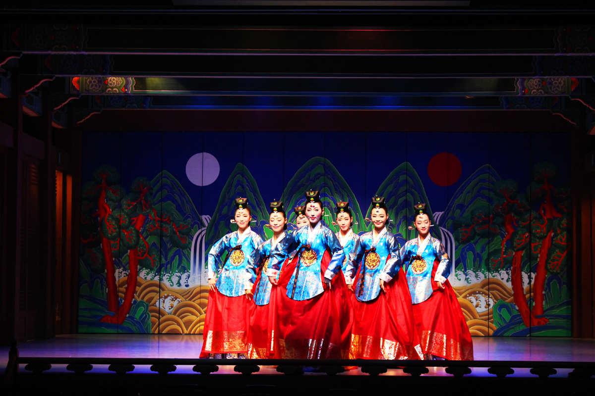 spectacle korea house Séoul Corée du Sud