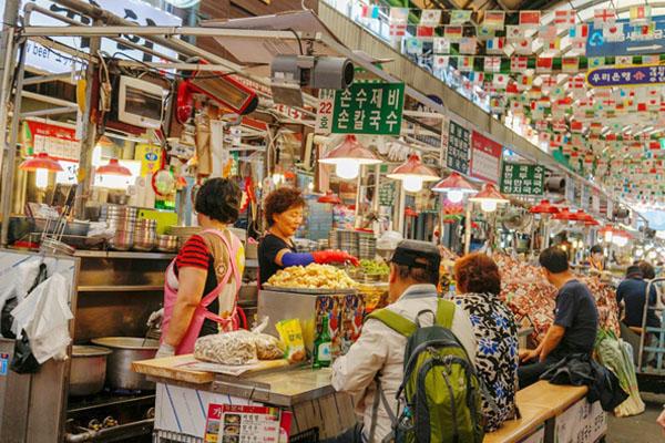 street food corée