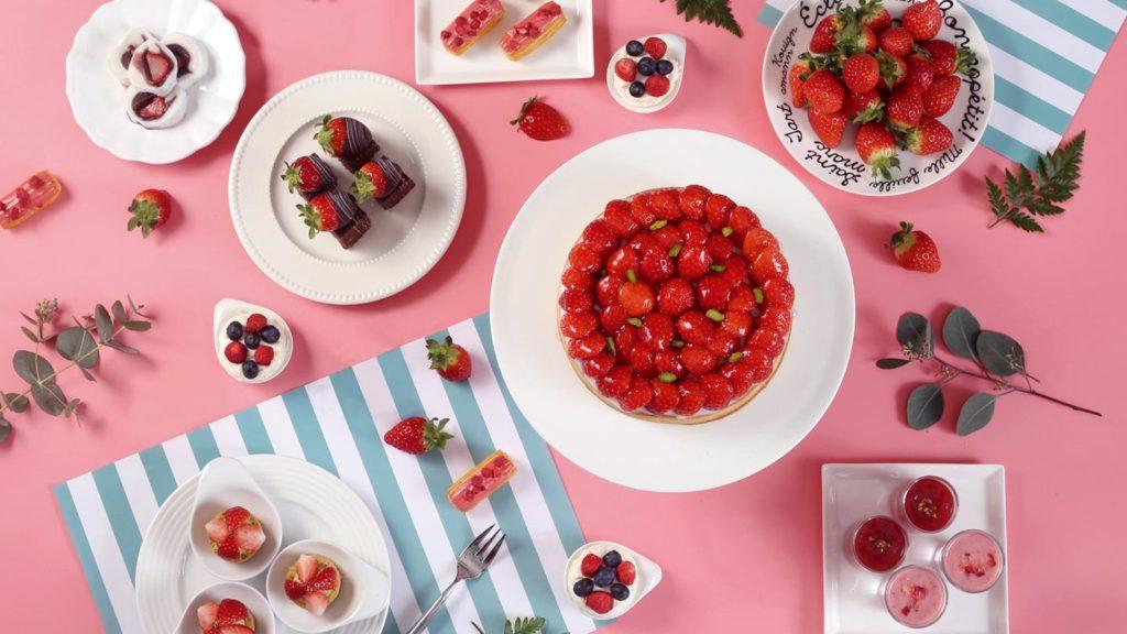 lotte buffet fraises