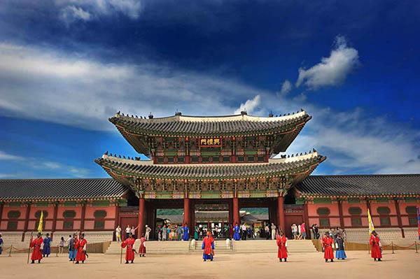 Gyeongbokgung palais séoul entrée
