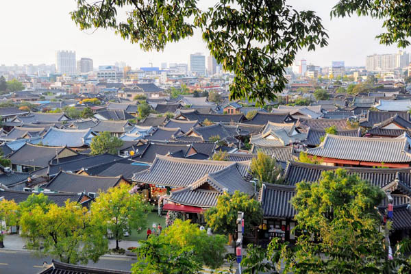 jeonju village hanok coree