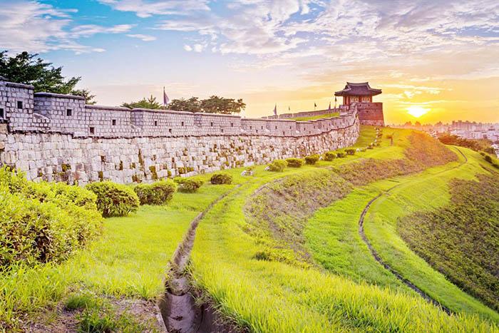 suwon forteresse seoul voyage