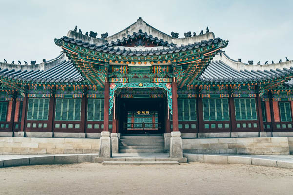 Seoul palais Changdeokgung